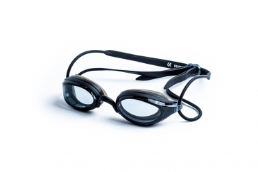 Zoggs Fusion Air zwembril zwart - donkere lens