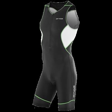 Orca Core race trisuit zwart/groen heren