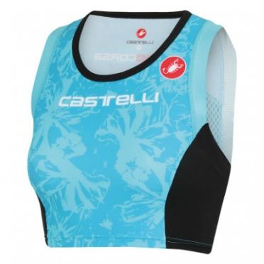 Castelli Free W tri short top aqua dames 13074-066