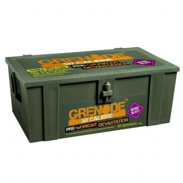 Grenade 50 Calibre Pre Workout devastator 50 porties