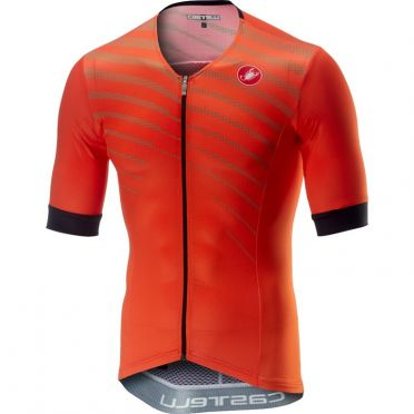 Castelli Free speed race jersey tri top oranje heren