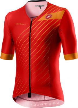 Castelli Free speed 2 race tri top rood heren