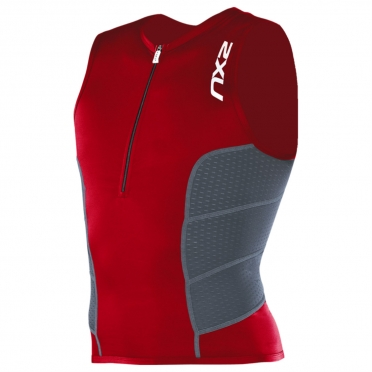 2XU Comp Tri Top Men`s MT1838a VNR/CHR