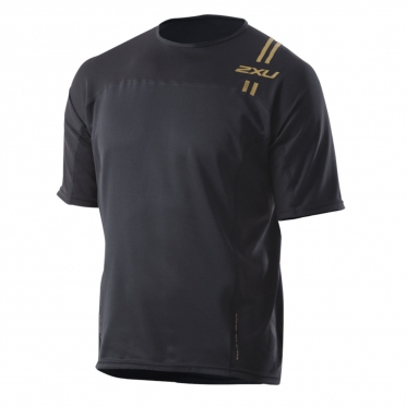 2XU elite run top men`s MR2077a BLK/GLD