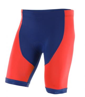 2XU Active Tri short rood/blauw heren