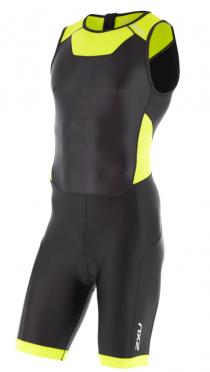 2XU Trisuit X-vent Rear Zip zwart/geel heren