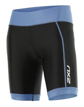 "2XU X-vent 7"" Tri short zwart/blauw dames"