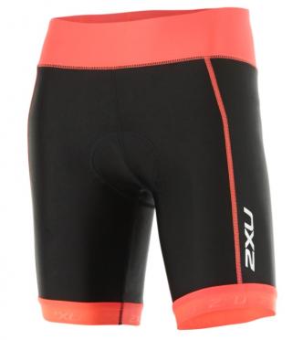 "2XU X-vent 7"" Tri short zwart/oranje dames"