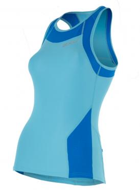 2XU X-vent Tri Singlet lichtblauw dames