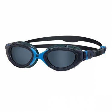 Zoggs Predator flex donkere lens zwembril blauw