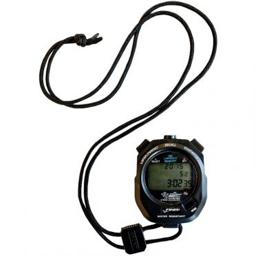Finis 3 x 100m Stopwatch zwart
