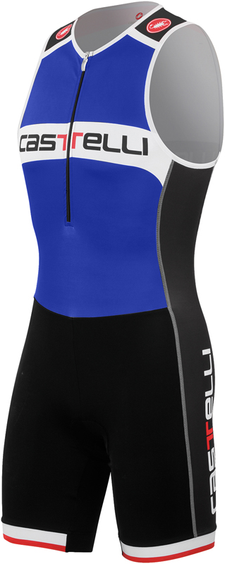 Castelli Core tri suit blauw/wit heren