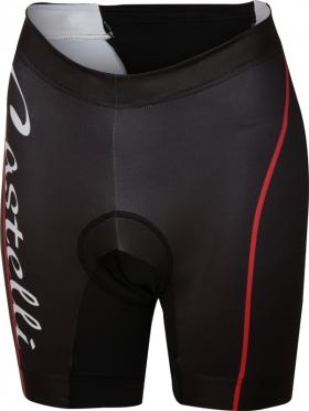 Castelli Core W tri short zwart/rood dames 14121-023