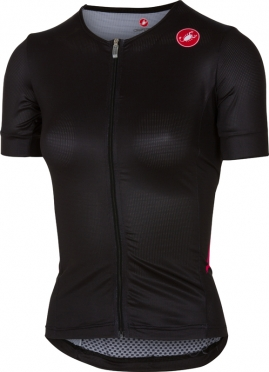 Castelli Free speed W race jersey tri top zwart/roze dames