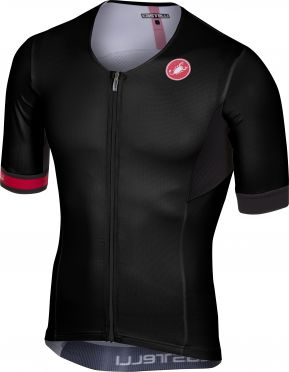 Castelli Free speed race jersey tri top zwart heren