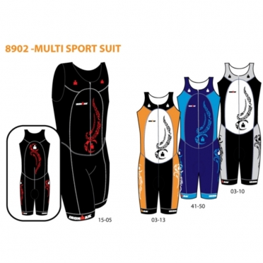 Ironman Triathlon Suit Multi Sport 8902