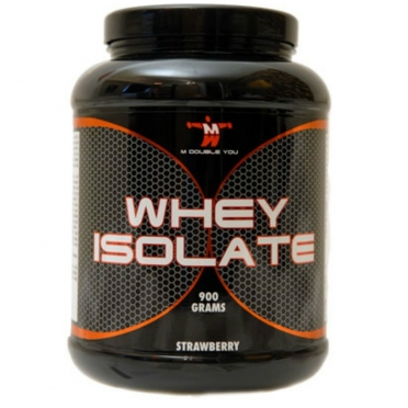 M Double You Whey Isolate 900 gram banaan