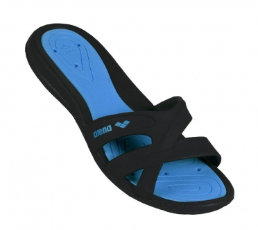 Arena Athena badslippers dames turquoise