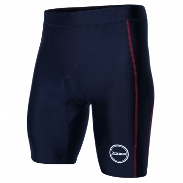 Zone3 Activate tri short zwart/rood heren