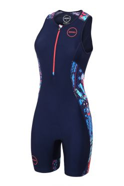 Zone3 Activate plus mouwloos trisuit latin summer dames