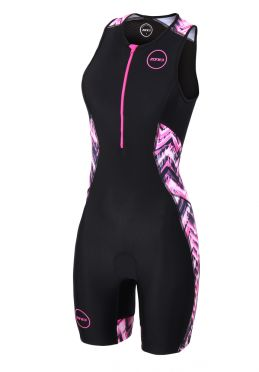 Zone3 Activate plus mouwloos trisuit Electric vibe dames