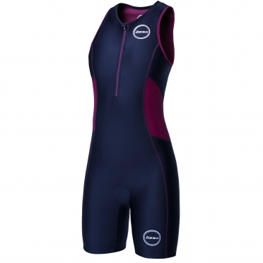 Zone3 Activate tri suit zwart/paars dames