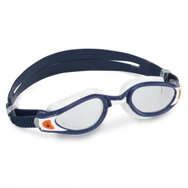 Aqua Sphere Kaiman EXO transparante lens zwembril donkerblauw/wit
