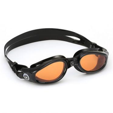 Aqua Sphere Kaiman oranje lens zwembril