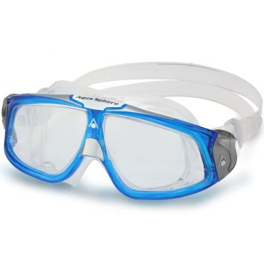 Aqua Sphere Seal 2.0 Clear Lens zwembril blauw/wit