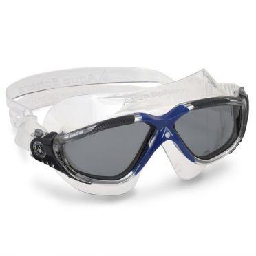 Aqua Sphere Vista donkere lens zwembril donkerblauw
