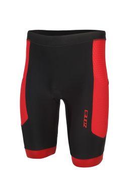 Zone3 Aquaflo plus tri shorts zwart/rood heren
