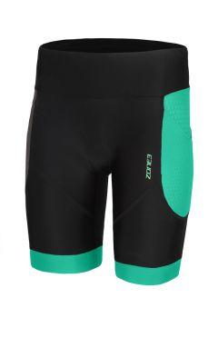 Zone3 Aquaflo plus tri shorts zwart/mint dames