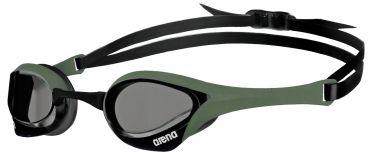 Arena Cobra ultra swipe zwembril grijs/groen/zwart