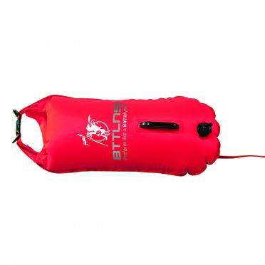 BTTLNS Saferswimmer zwemboei 28 liter Poseidon 1.0 rood