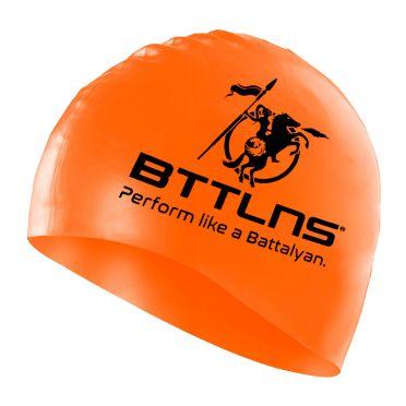 BTTLNS Siliconen badmuts neon-oranje Absorber 2.0