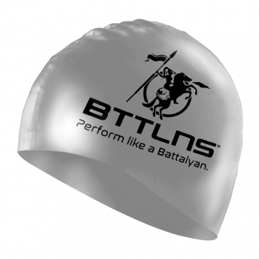 BTTLNS Siliconen badmuts prestige zilver Absorber 2.0
