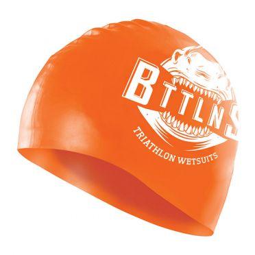 BTTLNS Shark absorber 2.0 siliconen badmuts neon/oranje