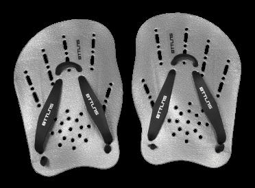BTTLNS Trireme 1.0 handpeddels zilver