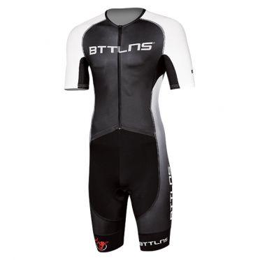 BTTLNS Typhon 2.0 trisuit korte mouwen zwart/wit heren