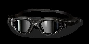 BTTLNS Valryon 1.0 spiegellens zwembril zwart/zilver
