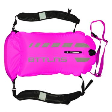 BTTLNS Tethys 1.0 safeswimmer zwemboei 35 liter roze
