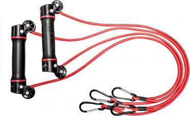 Finis Slide Dryland trainer 9 mm weerstandsband rood