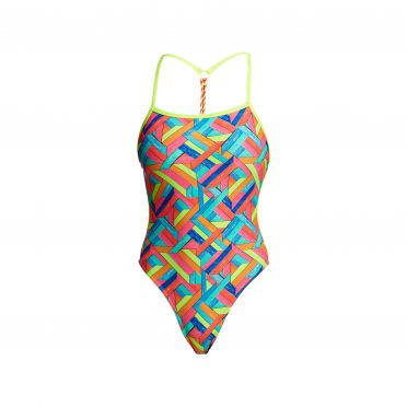 Funkita Panel pop twisted badpak dames
