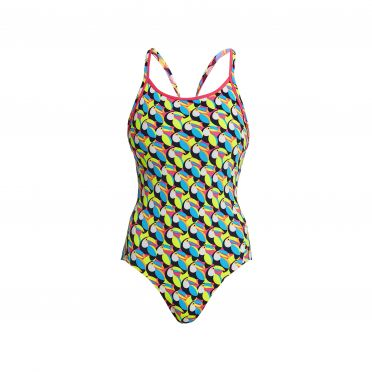 Funkita Toucan do it Eco diamond back badpak dames
