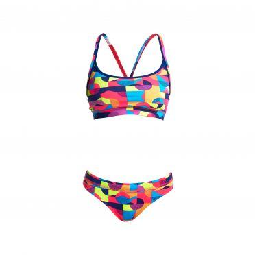 Funkita Mad mist Sports bikini set dames