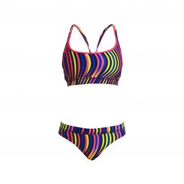 Funkita Squiggle piggle Sports bikini set dames