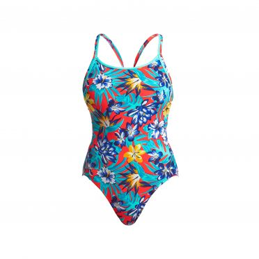 Funkita Aloha from Hawaii diamond back badpak dames