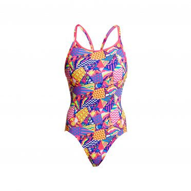 Funkita Bee Bop diamond back badpak dames