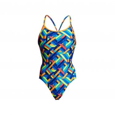Funkita Boarded Up diamond back badpak dames