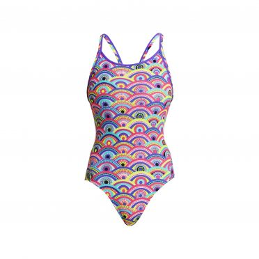 Funkita Eye candy diamond back badpak dames